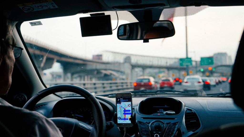 phone mounts for rideshare drivers