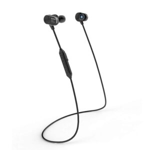 Wireless Sport Earphones with Magnetic Switch In Black