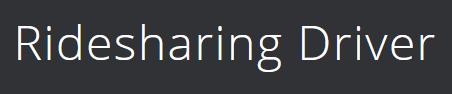 Ridehahring Driver Logo